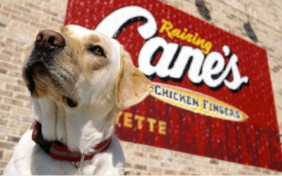 Easy Dinner at Raising Cane's on Thursday