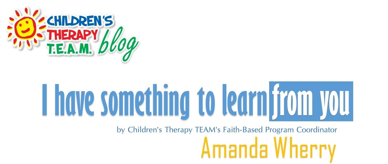 I Have Something to Learn From You by Amanda Wherry