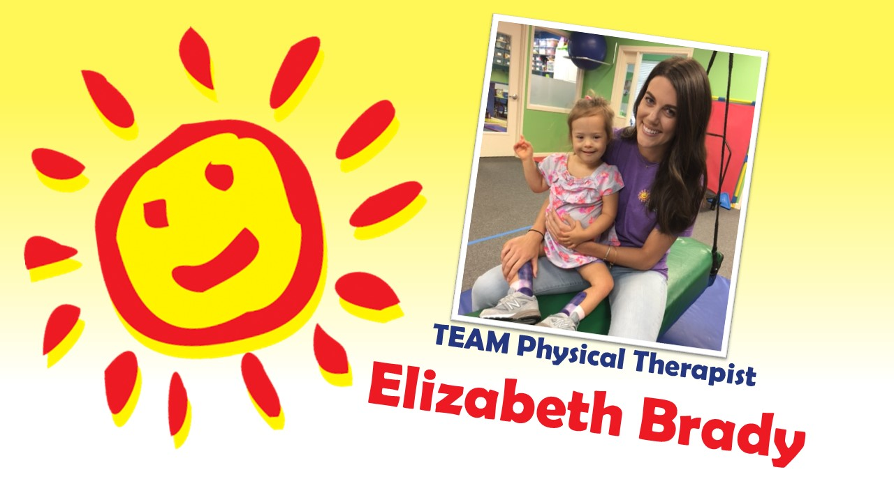 Thankful for Great Therapists like Elizabeth Brady