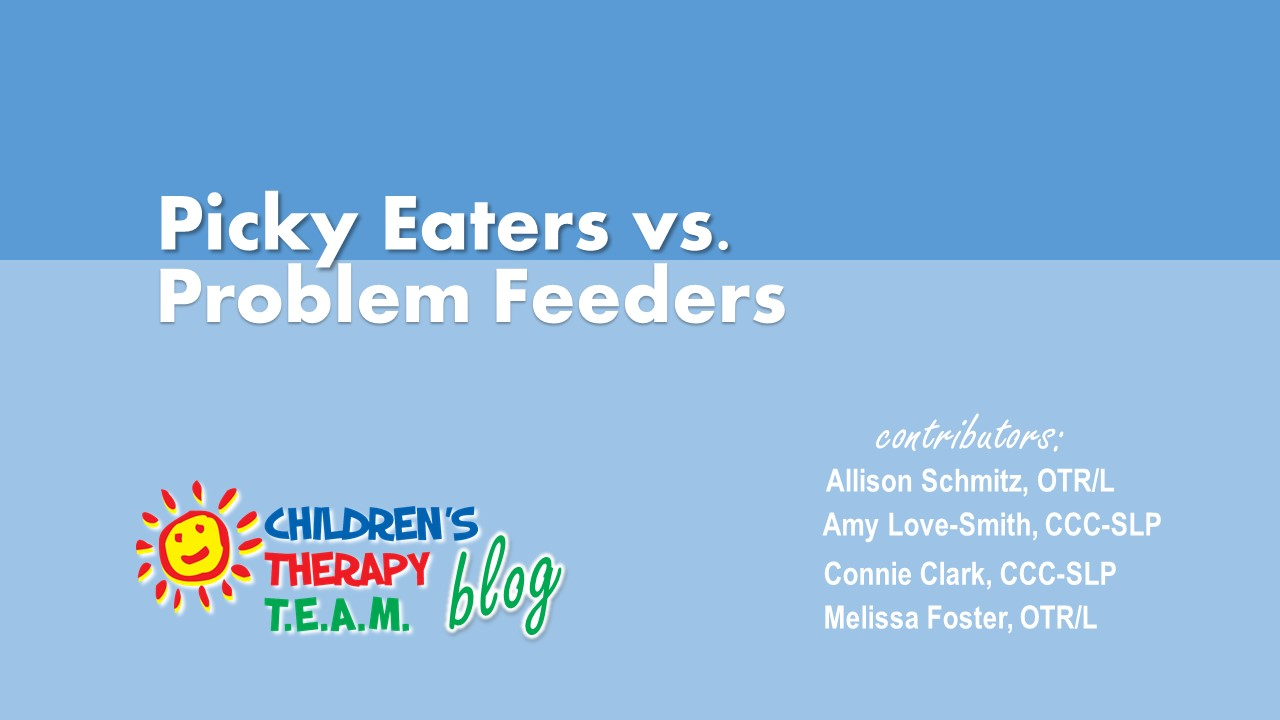 Picky Eaters vs Problem Feeders