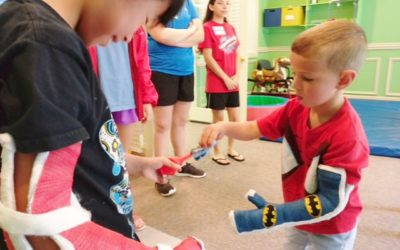 Kids with Hemiplegia thrive at CI Mobility Camp